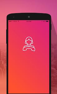 screenshot of تغيير الصوت أثناء المكالمة version 1.0