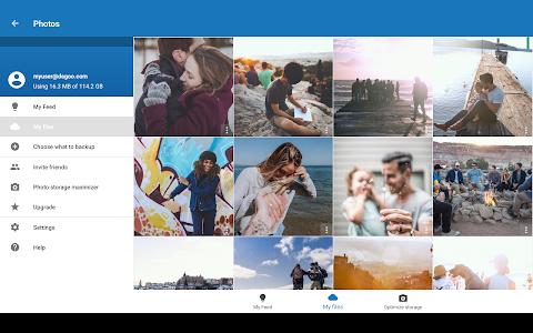 screenshot of 100 GB Free Cloud Drive from Degoo version 1.30.2.171026