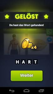 screenshot of 4 Bilder 1 Wort version 6.2.0-de