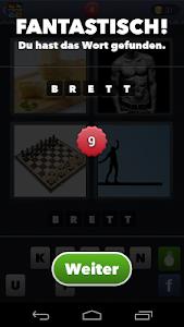 screenshot of 4 Bilder 1 Wort version 2.8