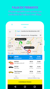 screenshot of 99 - Taxi and private drivers version Varies with device