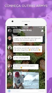 screenshot of ARMY Amino para BTS em Português version 1.8.10444
