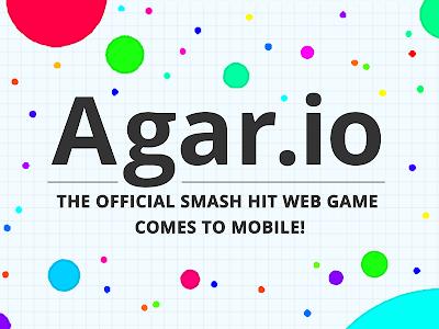 screenshot of Agar.io version 2.3.0