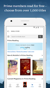 screenshot of Amazon Kindle version Varies with device