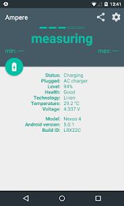 screenshot of Ampere version v1.45