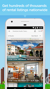 screenshot of Realtor.com Rentals: Apartment, Home Rental Search version 3.6