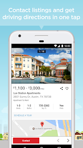 screenshot of Apartment, Home Rental Search: Realtor.com Rentals version 3.3.1