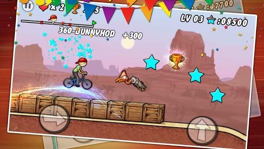 screenshot of BMX Boy version 1.16.39