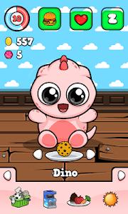 screenshot of Dino ? Virtual Pet Game version 1.3