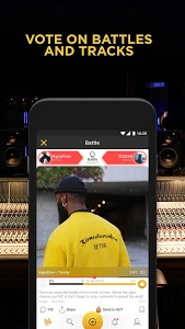 screenshot of Battle Me: Rap Maker and Hip Hop Studio. Community version 2.16.3