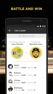 screenshot of Battle Me - Hip Hop and Rap version 2.6.3