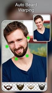 screenshot of Beard Photo Editor - Beard Cam Live version 1.4