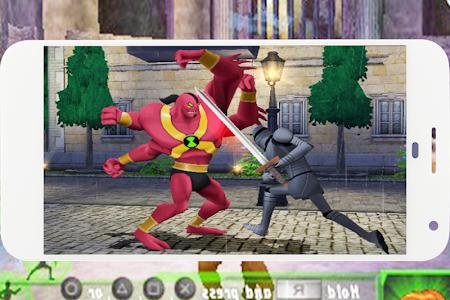 screenshot of Ben Cosmic Destruction Alien Ultimate version 2