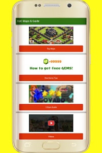 screenshot of Best Maps: Clash Of Clans 2017 version 1.0.CoC