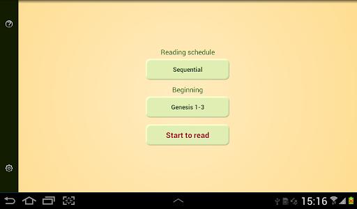 Download Bible Reading Schedule 2.7 APK