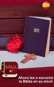 screenshot of Biblia Audio Español version 3.0