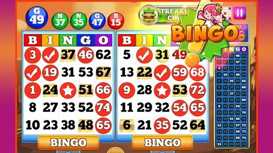 screenshot of BINGO! version 1.357