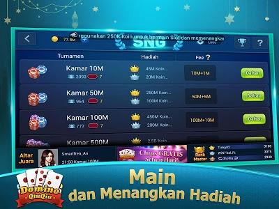 screenshot of Boyaa Domino QiuQiu: KiuKiu 99 version 1.7.7