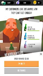 screenshot of Brew Town version 1.0.23