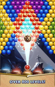 screenshot of Bubble Popper Legends version 1.0