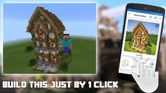 screenshot of Builder for Minecraft PE version 14.4