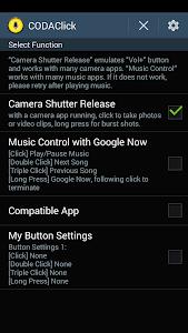 screenshot of CODA Button (-Wheel / -Click) version 1.6.1