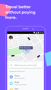 screenshot of Cabify version Varies with device