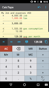Download CalcTape Calculator with Tape  APK