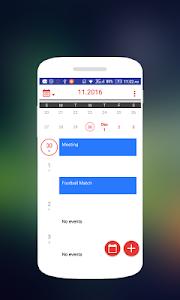 Download Calendar style Asus Zenfone 1.2 APK