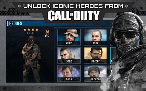 screenshot of Call of Duty®: Heroes version 4.8.0
