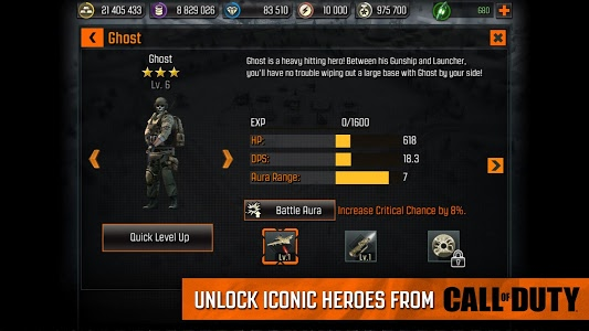 screenshot of Call of Duty®: Heroes version 2.7.1