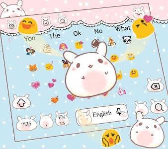 Download Cartoon Rabbit Keyboard Theme 10001003 APK