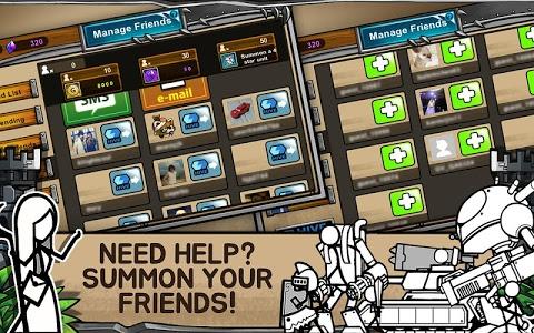 screenshot of Cartoon Wars 3 version 1.1.0
