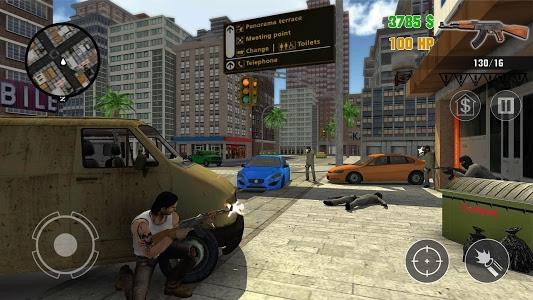 screenshot of Clash of Crime Mad City War Go version 1.0.5