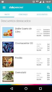 screenshot of Club Personal version 3.1.12