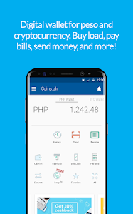 screenshot of Coins.ph Wallet version version 3.2.20