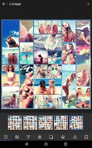 screenshot of Photo Collage Editor & Collage Maker - Quick Grid version 5.7.5