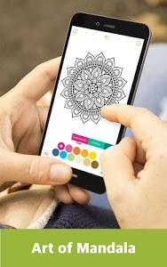 Download Color Mandala Book - Mandala Coloring Art 3.5.3 APK