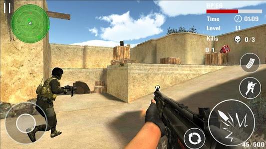 screenshot of Counter Terrorist Shoot version 2.0