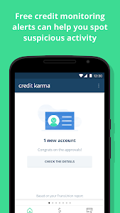 screenshot of Credit Karma version Varies with device