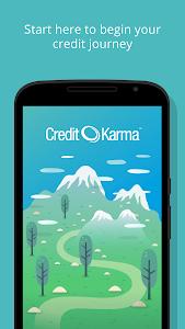 screenshot of Credit Karma version 3.5