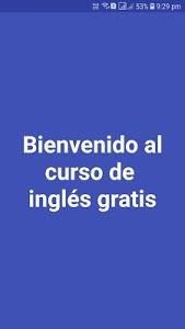 screenshot of Curso de Inglés Gratis version 20.0