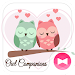 Download Cute Wallpaper Owl Companions Theme 1.0.0 APK