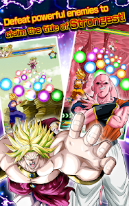 screenshot of DRAGON BALL Z DOKKAN BATTLE version 3.3.1