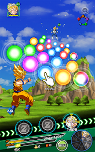 screenshot of DRAGON BALL Z DOKKAN BATTLE version 2.13.3