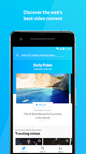 screenshot of Dailymotion: Explore and watch videos version Varies with device