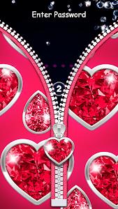 Download Diamond Zipper Lock Screen 3.6 APK