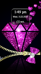 Download Diamond Zipper Lock Screen 3.6 APK