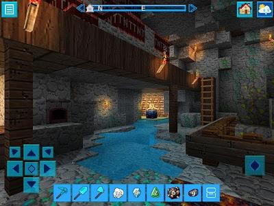 screenshot of DinoCraft Survive & Craft Pocket Edition version 3.7.0