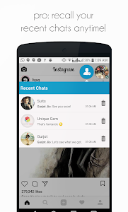 screenshot of DirectChat (ChatHeads for All) version 1.4.7